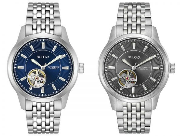 Buy Bulova Men's Automatic Open Heart Window Multiple Dial Colors 40mm Watches