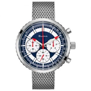 Buy Bulova Men's Special Edition Chronograph C Archive Box Set 46mm Watch 96K101
