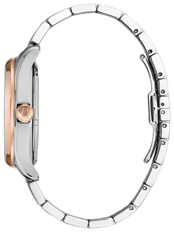 Buy Bulova Wilton Men's Automatic Power Reserve Two-Tone Bracelet 42mm Watch 98A213