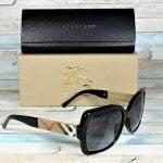 Buy Burberry BE4160-34338G BLACK grey gradient 58 mm Women's Sunglasses