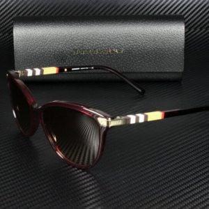 Buy Burberry BE4216 301413 BORDEAUX BROWN GRADIENT 57 mm Women's Sunglasses