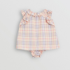 Buy Burberry Baby Girl Carla Ruffle Swing Dress Bloomers Set Classic Check 6 Mth NWT