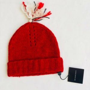 Buy Burberry Childrenswear - Cashmere / Wool Red Hat - Size 2 Years