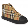 Buy Burberry Toddler Unisex Belford Check Print Sneaker Sz 32 EU / 13.5 US Black NIB