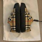 Buy Burberry Toddler Unisex Belside Check Print Sneakers Sz 28 EU / 11 US Black NIB!