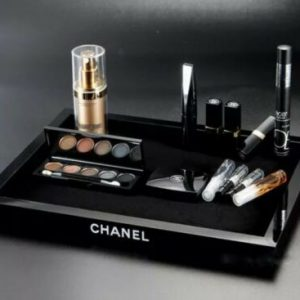 Buy CHANEL Cosmetic Storage Make-Up/Jewelry Organizer Velvet Tray *new in box*