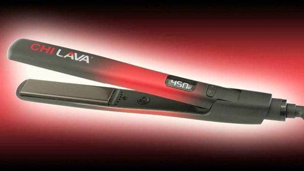 "Buy CHI LAVA 1"" VOLCANIC LAVA CERAMIC HAIR STYLING FLAT IRON - New"