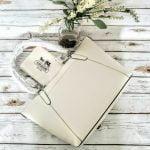 Buy COACH AVA HEART BANDANA RIVETS PURSE NWT 66871 CHALK WHITE LEATHER SIGNATURE