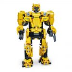 Buy CaDA B127-BEEBOT 2 In 1 DIY 2.4G Smart RC Robot Block Building Shooting