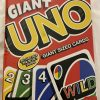 "Buy Cardinal Giant Uno Card Game New Sealed 7.4"" X 10.1"" Actual Size"