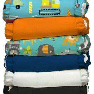 Buy Charlie Banana Hybrid AIO Reusable One Size Baby Cloth Diaper 6 PK Super Dude