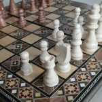 Buy Chess Board/Checkers -Foldable- Handmade High Detail Wooden Game