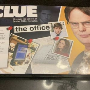 Buy Clue The Office Edition Board Game Hasbro Dunder Mifflin Michael Scott Dwight