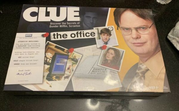 Buy Clue The Office Edition Board Game Hasbro Dunder Mifflin Michael Scott Dwight