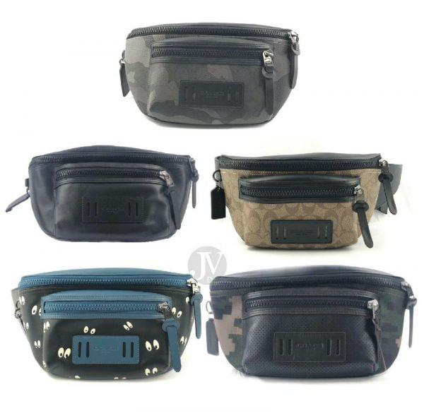 Buy Coach Mens (F75776 F72928) Terrain Belt Leather Fanny Waist Bag