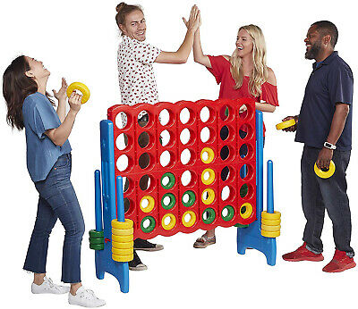 Buy Connect 4 Game Set Jumbo 4 Ft. Tall Kids Family Indoor Outdoor Backyard Fun Play