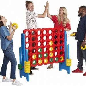 Buy Connect 4 Game Set Jumbo 4 Ft. Tall Kids Family Indoor Outdoor Backyard Fun Play