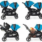 Buy Contours Options Elite Twin Tandem Double Baby Stroller Carbon NEW  2019