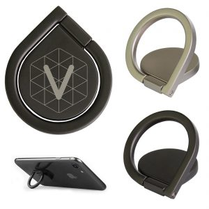 Buy Custom Mobile Ring Holder Teardrop Branded w/ Logo Min. 50 Qty. Promotional Bulk