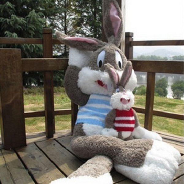 Buy Cute Large Plush Rabbit Stuffed Cartoon Bugs Bunny Pilllow Toy Children's Gifts