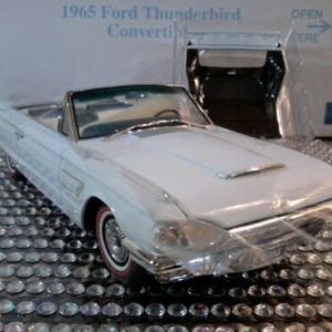 Buy DANBURY MINT 1965 FORD THUNDERBIRD CONVERTIBLE..1:24..NIB..DOCS..UNDISPLAYED