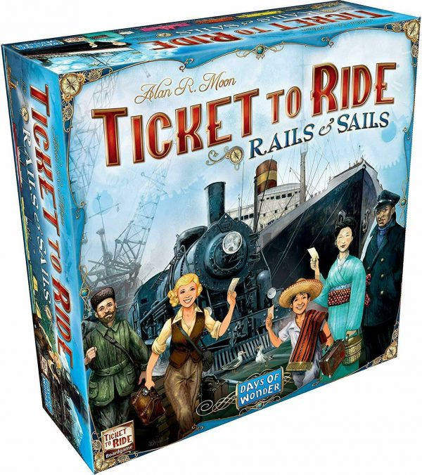 Buy DAYS OF WONDER DW7226 Ticket to Ride: Rails & Sails