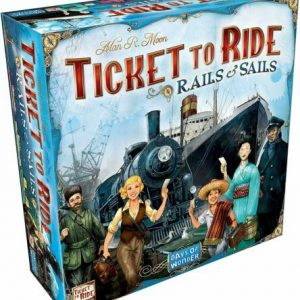 Buy DAYS OF WONDER DW7226 Ticket to Ride: Rails & Sails