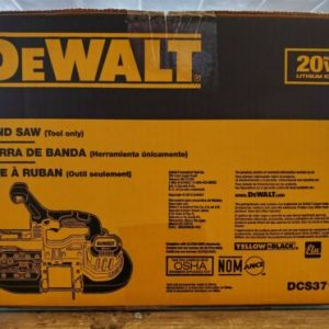 Buy DEWALT DCS371B 20V MAX Li-Ion Band Saw (Bare Tool) BRAND NEW !!!!!!!