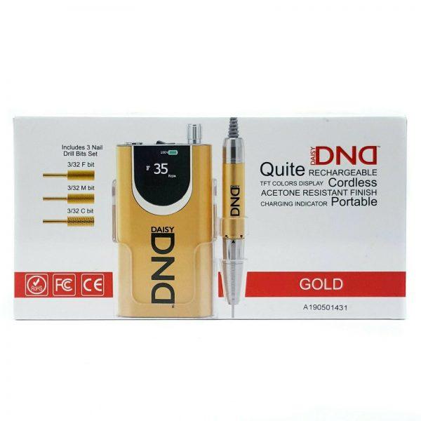 Buy DND Daisy Gold Nail Drill Machine 35,000RPM