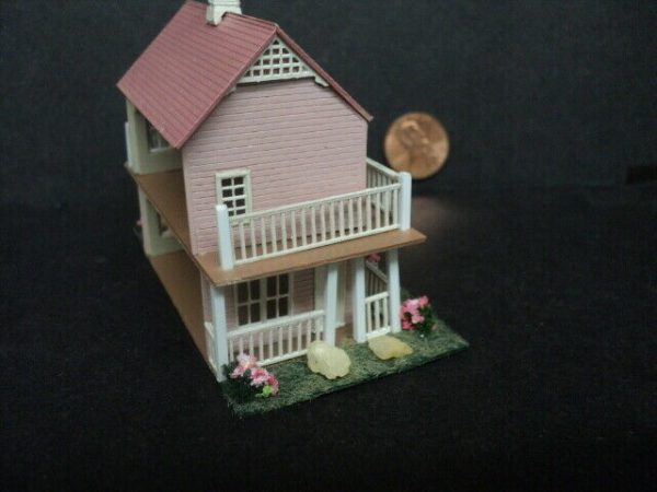 Buy DOLLHOUSE FOR INSIDE YOUR DOLLHOUSE- 1/144TH SCALE- PINK