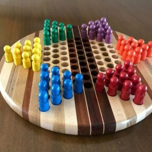 Buy David Levy Handcrafted Chinese Checker Game