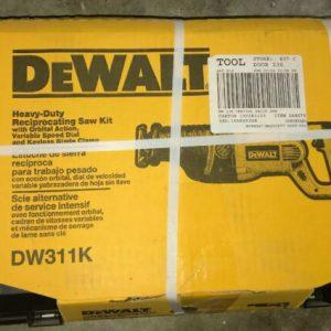 """Buy DeWALT DW311K 1-1/8"""" 13 Amp Reciprocating Saw W/ Heavy Duty Carrying Case"""