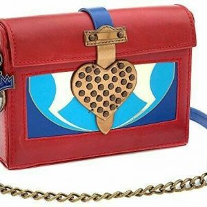 Buy DiSNEY Descendants Purse Hand Crossbody Shoulder Bag Heart Villain Mal Evie NEW