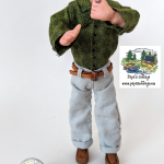 Buy Doctor physician doll for 1:12 scale dollhouse OOAK Handmade - retiring soon!