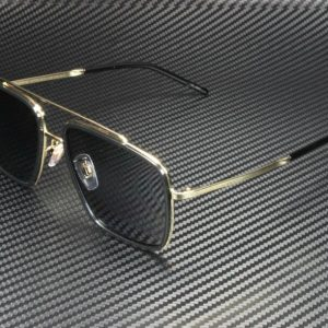 Buy Dolce & Gabbana DG2220 02/81 GOLD/BLACK POLARIZED GREY 57 mm Men's Sunglasses