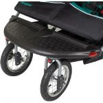 Buy Double Jogging Stroller Twins Baby Boys Jogger Folding Child Cart MP3 Speakers