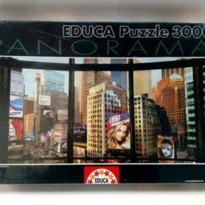 Buy EDUCA PUZZLE 3000pcs TIMES SQUARE 15179