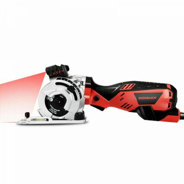 Buy Electric Mini Laser Circular Saw Cutting Tool Kit