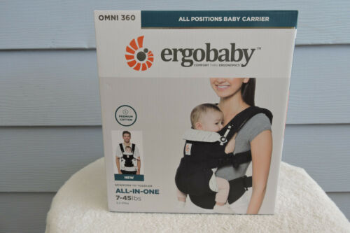 Buy Ergobaby Carrier, Omni 360 All Positions Baby Carrier, Black Downtown
