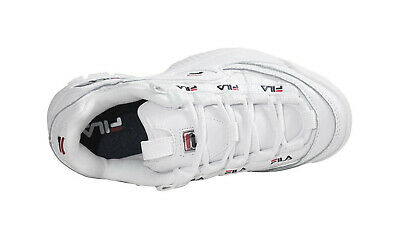Buy Fila Women Youth Girls Shoes D Formation White White Navy Red Fashion Casual