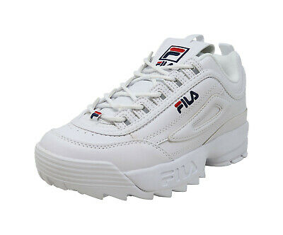 Buy Fila Women Youths BOYS GIRLS Shoes Disruptor II Synthetic Leather White