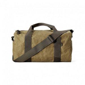Buy Filson Field Duffle Bag Small 70110 Oil finish Tin Cloth Dark Tan Brown 11070110