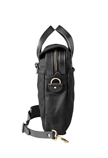 Buy Filson Original Briefcase Leather & Rugged Twill Laptop Bag