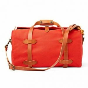 Buy Filson Rugged Twill Small Duffle Bag, Mackinaw Red, USA, New with Tags, $350