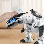 Buy Fistone RC Robot Dinosaur Intelligent Interactive Smart Toy Electronic...