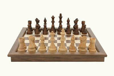 Buy Folding Walnut Chess Set - Dal Rossi Free Shipping!