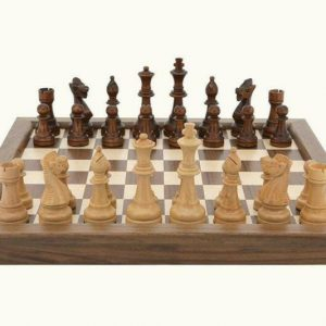 Buy Folding Walnut Chess Set - Dal Rossi Free Shipping!