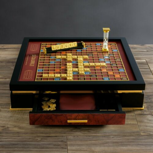 Buy Franklin Mint Scrabble Collector's Edition Game Board Brand new in sealed box