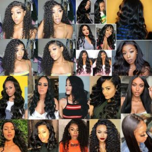 Buy Deluxe Body Wave 100% Peruvian Remy Human Hair Wig Lace Front Full Lace Wigs Fhd