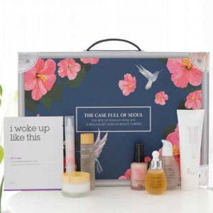 Buy From USA Case Full of Seoul Korean Beauty 8-piece Skin Care Regimen NEW Sealed